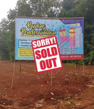 thumb sold out kavling pendosawalan a